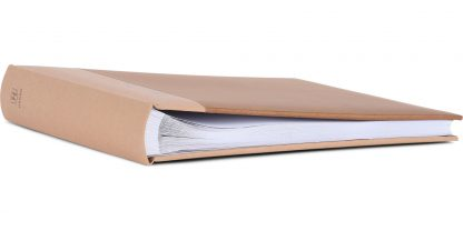 Brown Chapter album, spine & binding, 50.006.04
