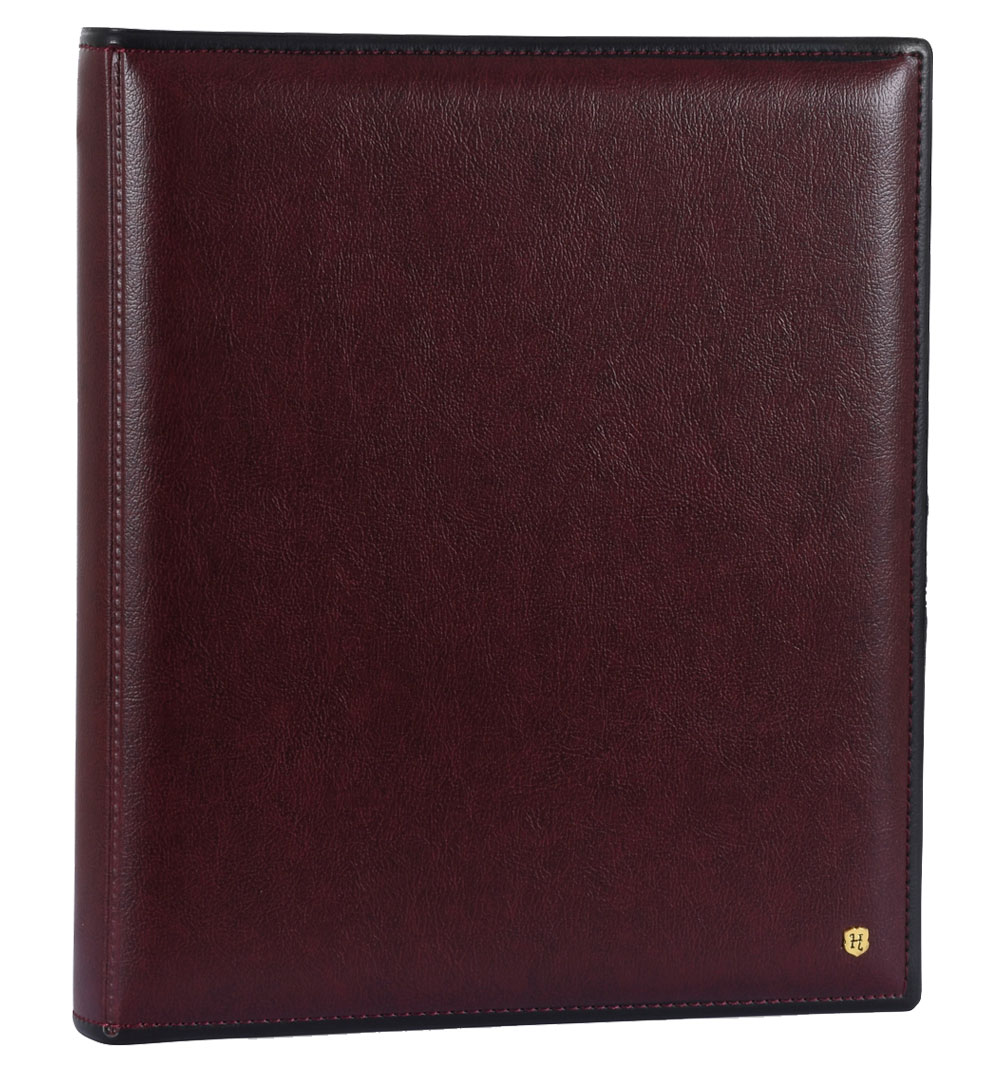 Burgundy Ring Binder Photo Album, 28.5 X 34cm, 16.206.09