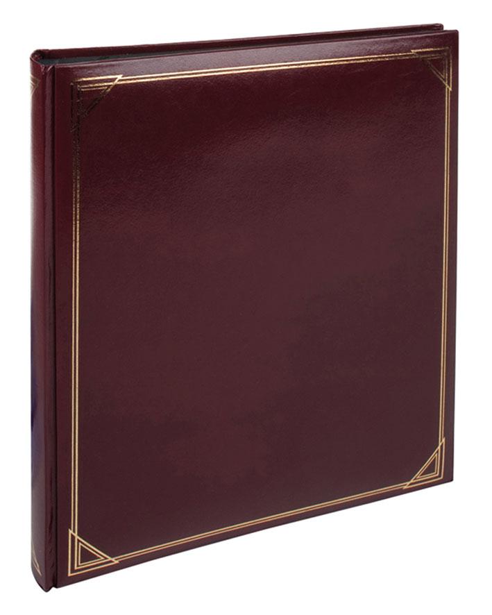 Burgundy Photo Album 29 X 335cm Black Pages 1085409 Promo