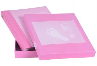 Henzo Steps baby albums with gift box