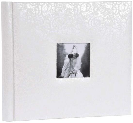 Large Wedding Album, 34 x 31cm, White Pages, 22 099 02
