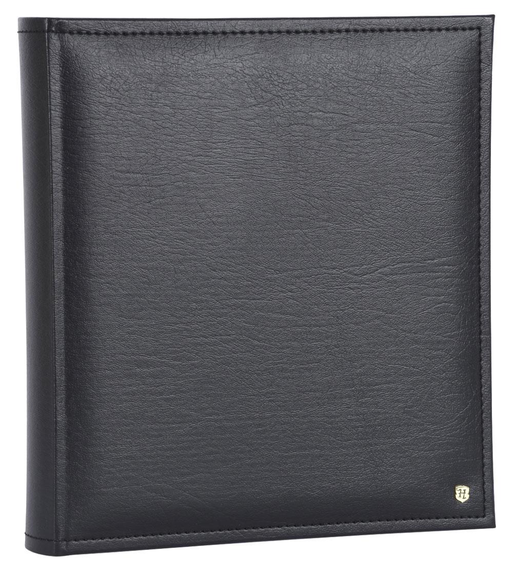 black faux leather photo album from henzo albums uk