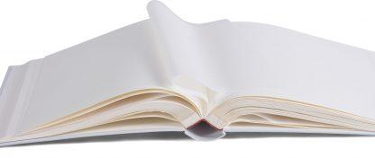 Binding & page detail, white Henzo Memory album