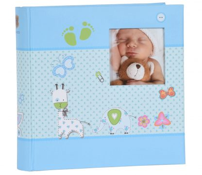Baby Moments blue memo slip-in album, 98.406.07